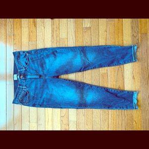 Jcrew skinny cropped jeans